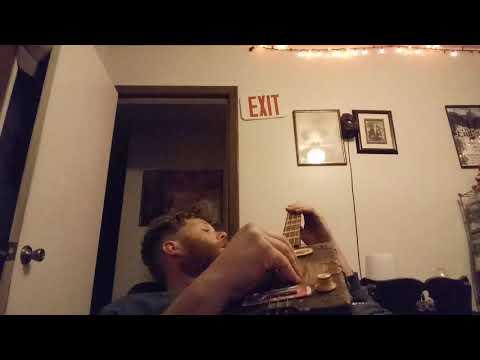 Cigar Box Guitar Late Night Blues Jam