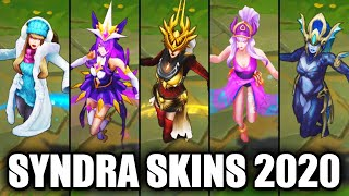 All Syndra Skins Spotlight 2020 (League of Legends)