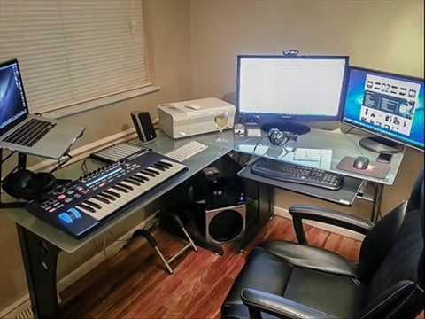 l shaped glass computer desk office glass desk glass office furniture youtube. Black Bedroom Furniture Sets. Home Design Ideas
