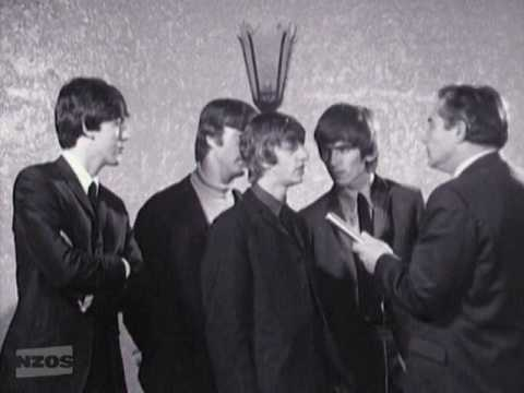 NZ On Screen - The Beatles In Auckland: Interview