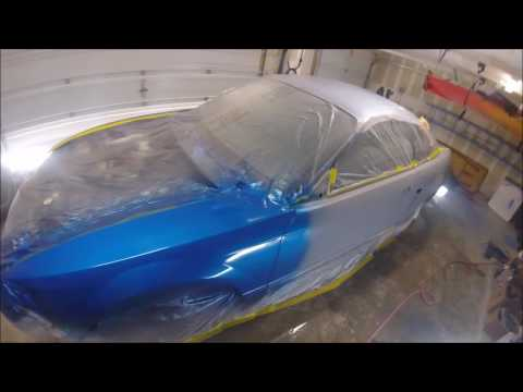 Painting your own car at home youtube painting your own car at home diy garage guy solutioingenieria Gallery