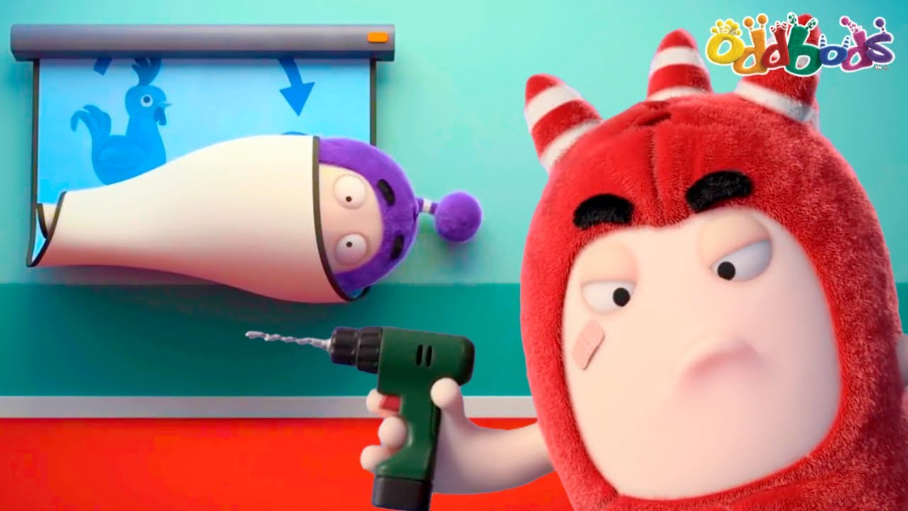 Oddbods | NEW | TECH IT EASY | Funny Cartoons For Kids