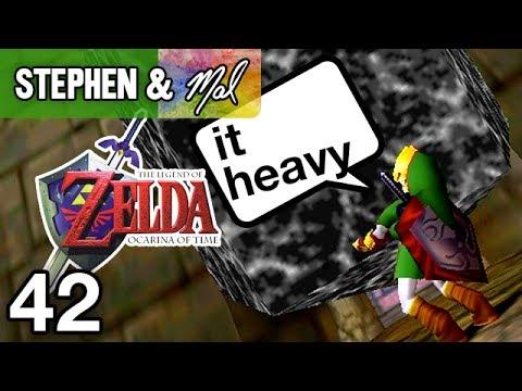 "Zelda: Ocarina of Time #42 - ""LIFT HEAVY ROCKS"""