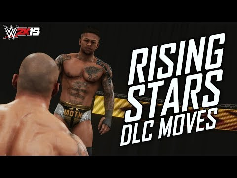 """WWE 2K19 ALL """"RISING STARS DLC"""" MOVES! (Every Move In The DLC Pack) 