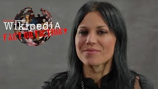 Lacuna Coil's Cristina Scabbia - Wikipedia: Fact or Fiction?
