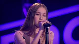 the voice kids germany 2018 jouline the power of love blind auditions