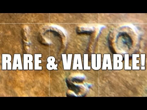 Thumbnail: It's Official! Rare & Valuable Variety Penny Found By Me! 1970 S Small Date Cent