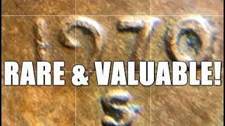 It's Official! Rare & Valuable Variety Penny Found By Me! 1970 S Small Date Cent