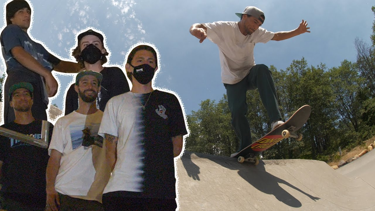 Campfires, Caves and CRUSHING! SC Team Goes To Mt Shasta Park | Santa Cruz Skateboards