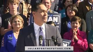 Democrat Julian Castro launches 2020 presidential bid