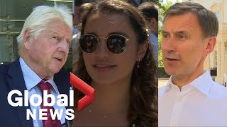 Politicians, UK residents and Boris Johnson's father react to leadership win