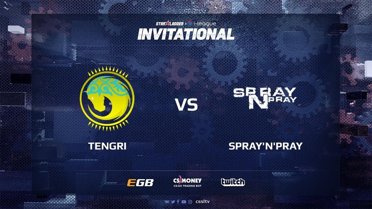 Tengri vs spray'n'pray, map 1 mirage, SL i-League Invitational Shanghai 2017 CIS Qualifier