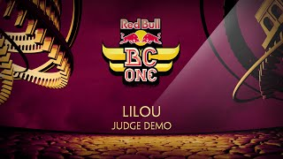 Lilou Judge Demo - Red Bull BC One France Cypher 2015 by OckeFilms