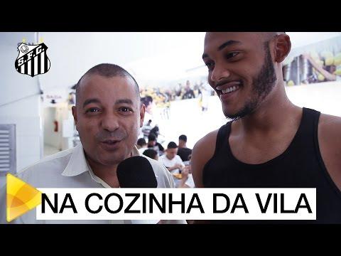 Santos TV invade a cozinha da Vila Belmiro