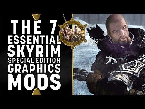 Skyrim Special Edition Mods - 7 Essential PC Graphics Mods (GTX 1080)