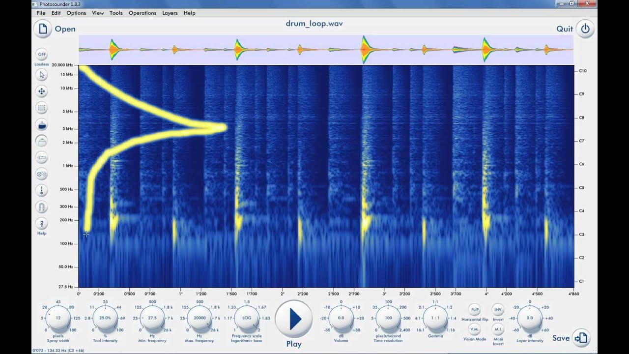 Photosounder com - Image-sound editor & synthesizer