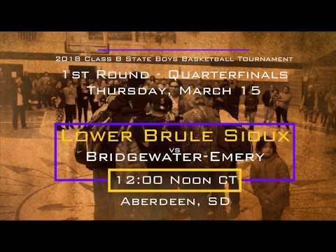 Sweet 16 REGION CHAMPIONSHIP - Lower Brule Sioux vs Corsica/Stickney Jaguars