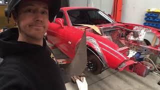 DIY Steel flares for the drift car