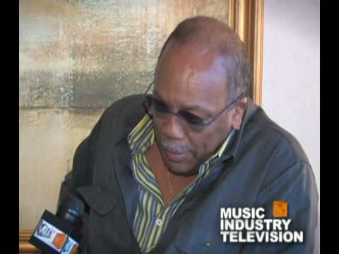 Quincy Jones  -  Music Industry Television