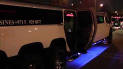 Dubai Hummer Limo 8 wheeler