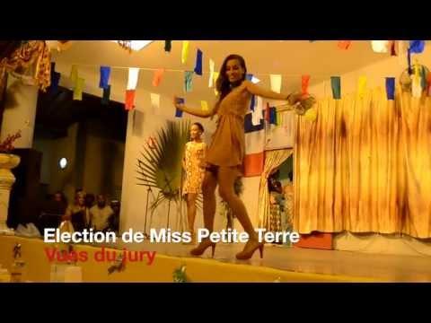 """Election de Miss Petite Terre. Séquences """"Vues du jury""""."""