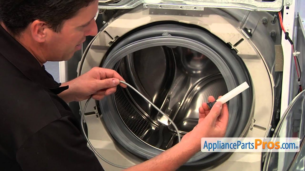 maxresdefault washer door boot seal (part 134515300) how to replace youtube  at highcare.asia