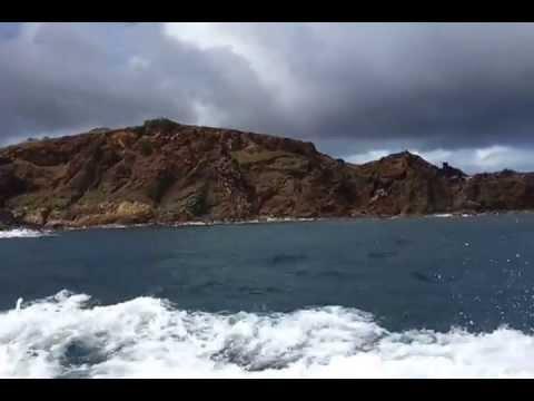 Rolex Regatta 2012, media boat, journalists, St  Thomas, U S  Virgin Islands, Virgin Islands
