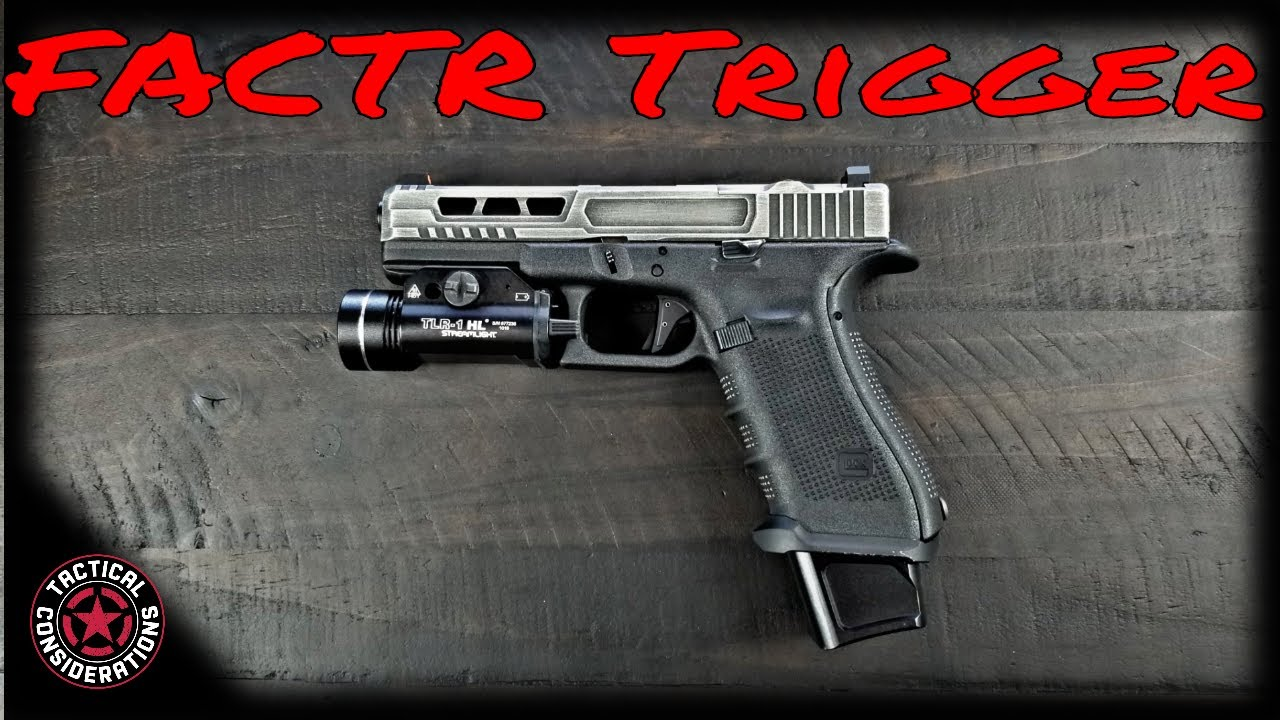 FACTR Trigger For Your Glock, Polymer80, And Nomad