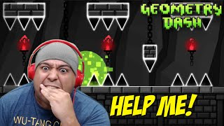 MY WORST F#%KING NIGHTMARE!! ALL TRIPLE SH#TS! [GEOMETRY DASH]