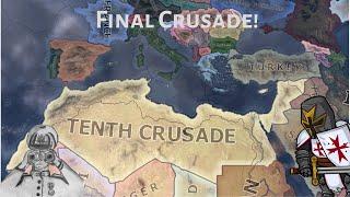 Deus Vult! Last Crusade by Malta! (Hoi4 Timelapse/Speedrun)