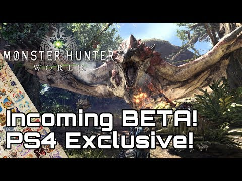 Monster Hunter World! Exclusive Beta for PS4 December 9th!