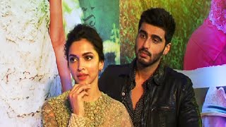Deepika Padukone and Arjun Kapoor at the success party of FINDING FANNY.