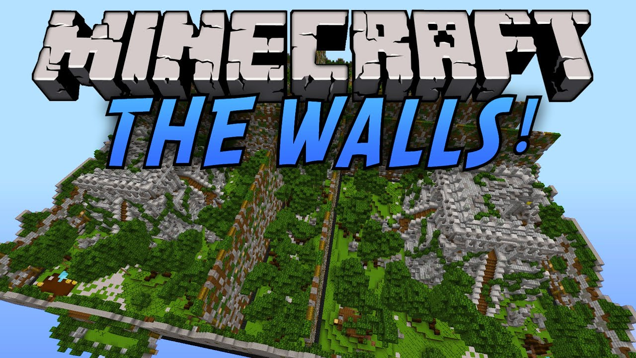 Minecraft: The Walls [Hypixel] - Intense GAME! - YouTube