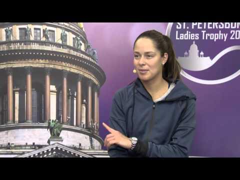 Ana Ivanovic. St. Petersburg Ladies Trophy. 08.02.16