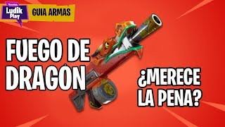 DRAGON FIRE SHOTGUN IS WORTH IT? FORTNITE SAVE THE WORLD SPANISH GUIDE