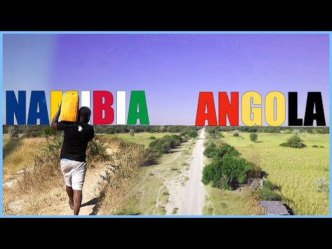We Walked From Namibia to Angola Without A Passport & Visa!