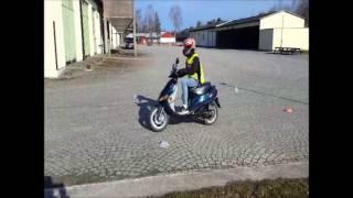 Körgård moped klass 1