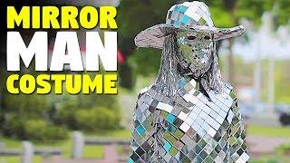 Mirror Man Costume | Mirror Suit Costume For Halloween