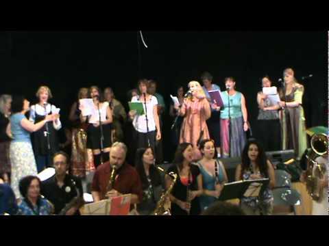 2011 East Coast Balkan Camp Brass Band Ensemble - Kazuj Krchmo