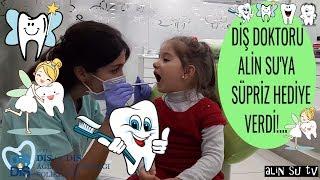 Alin Su ile Dişçiye Gittik Çok Şaşırdı   Diş Muayenesi Sonrası Alin Su'ya Süpriz Hediyeler!... 😲❤😍