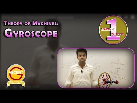 GATE Lectures: Theory of Machines: Gyroscope