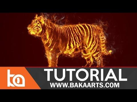 Wild Fire | Beginner Photo Manipulation Tutorial | Turn Anything Into Fire