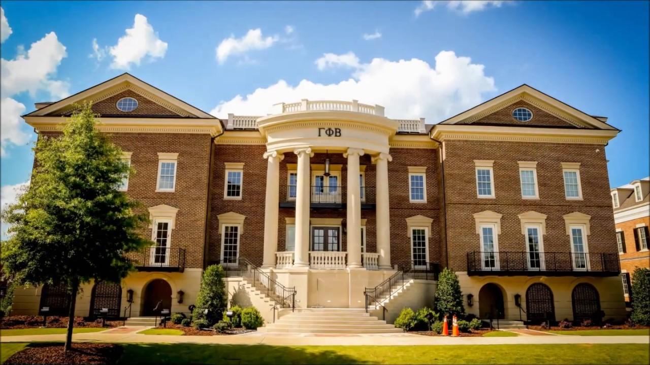 University of alabama gamma phi beta new sorority house for Building a house in alabama