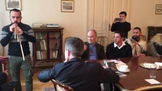 Launeddas e organetto intracciano i suoni a Sofia per l'ambasciatore italiano in Bulgaria