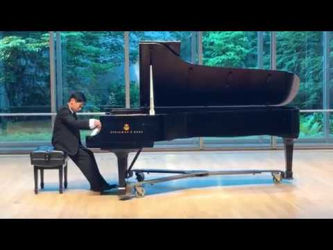 Cory Wu plays Debussy Pour le piano III - Toccata at Cleveland Institute of Music