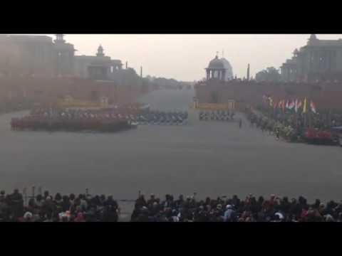 Beating the Retreat at Vijay Chowk New Delhi