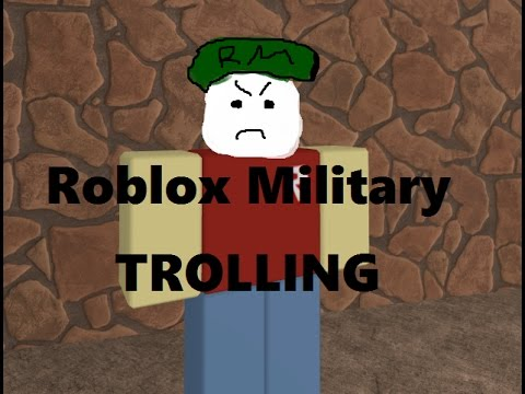 Roblox Exploiting #7 - MILITARY TROLLING