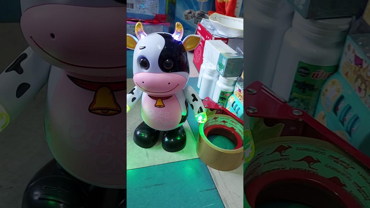 Toys EP.21 ตุ๊กตาวัวเต้นมี-เสียง-ไฟ (Cut Cow)