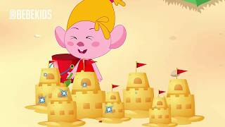 Troll Bebe's Funny Stories Family! Sand Castle To Troll Baby