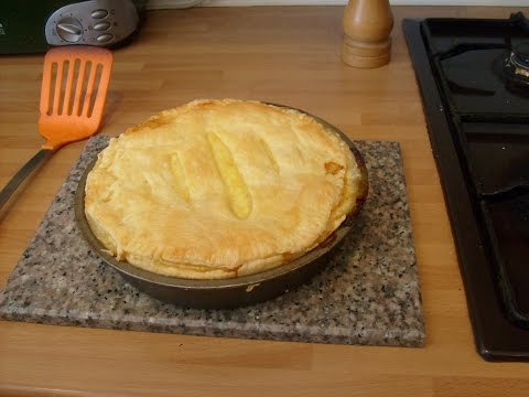 Proper Cheese And Onion Pie
